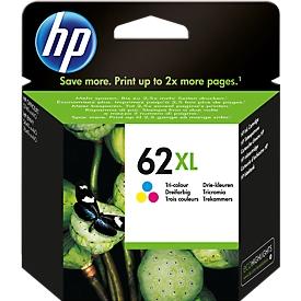 HP Tintenpatrone Nr. 62XL Tri-Color C2P07AE, original