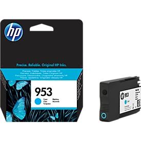 HP Tintenpatrone Nr. 953 cyan (F6U12AE), original