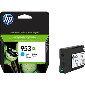 HP Tintenpatrone Nr. 953XL cyan (F6U16AE), original