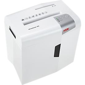 HSM papierversnipperaar Shredstar X5, 4,5 x 30 mm particle-cut, veiligheidsniveau P-4