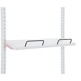 Hüdig+Rocholz stootbeugel systeem Flex, voor flexibele inrichting van legborden