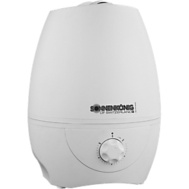 Humidificador BILBAO, 30 W, nebulización 360°, hasta 25 m³, 0,35 l/h, W 230 x D 230 x H 310 mm
