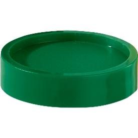Imanes MAUL, ø 34 mm, 10 piezas, verde
