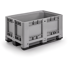 Industriebox, mit 3 Kufen, 330 Liter