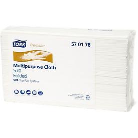 Industrieel schoonmaakdoek TORK® Premium 570, 5 zakken, extra sterk
