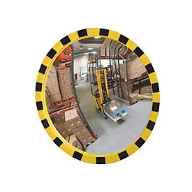 Industriële spiegel EUCRYL, 3,5 kg, Ø 600 mm