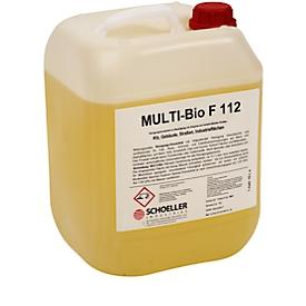 Industriereiniger Schoeller Industries Multi-Bio, für Straßen & Flächen, gegen Fett/Öl/Ruß, biologisch abbaubar, ohne Gefahrstoffe, 10 l in Kanister