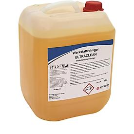 Industriereiniger Schoeller Industries Ultra-Clean, für Böden & Außenflächen, gegen Fett/Öl/Ruß, alkalisch, abscheiderfreundlich, 10 l in Kanister