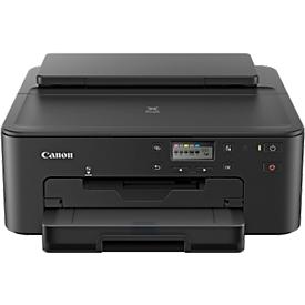 Inkjetprinter Canon PIXMA TS705, Kleur/ZW, USB/LAN/WLAN/bluetooth, duplex/foto/cd/dvd, 10-15 S./m., tot A4, 5 tanks