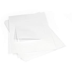 Inlegfolie voor laserprinters, 150 x 150 mm (voor 4 afstandshouders), 5 stuks