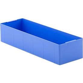 Inzetbak EK 115, PS, blauw, 10 stuks