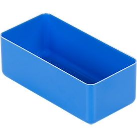 Inzetbak EK 402, PSB 40 x D 54 x H 40 mm, blauw, 60 stuks