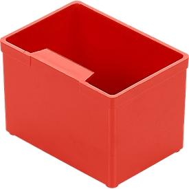 Inzetbak EK 501, PS, 40 stuks, rood
