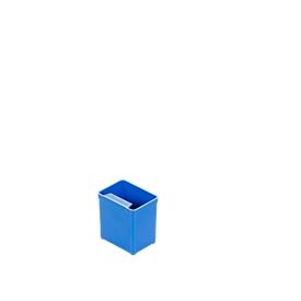 Inzetbak EK 551, PS, 40 stuks, blauw