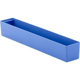 Inzetbak EK 6041 L, PP, blauw, 20 stuks