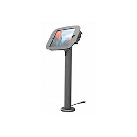 iPad vloerstandaard Compulocks Rise Space, hoogte 600 mm, 360° draaibaar, aluminium, zwart
