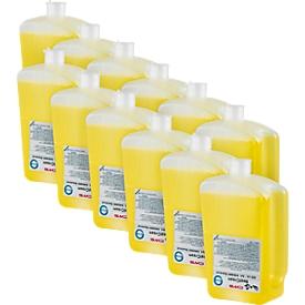Jabón en crema, 12 botellas de 500 ml