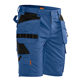 Jobman korte broek 2722 PRACTICAL, met holsterzakken, UV-bescherming, blauw/zwart, maat 48