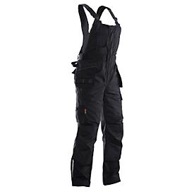 Jobman tuinbroek 3730 PRACTICAL, met knie- en holsterzakken, zwart, maat 44