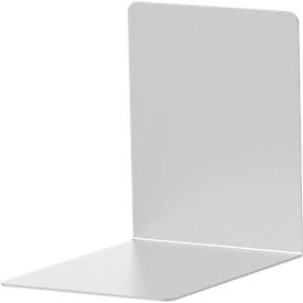 Juego de 2 sujetalibros de aluminio, 100 x 80 x 100 mm