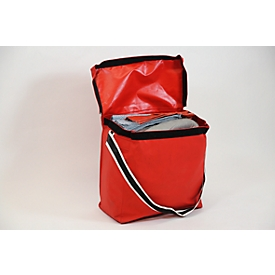 Juego de emergencia para fugas universal gris, absorción 75 l, 55 piezas, con bolsa