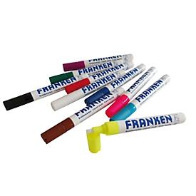 Juego de rotuladores de tiza Franken ZKM96, 10 unidades, colores variados, grosor de línea 2 - 5 mm