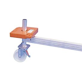 Juego de rueda para andamio de trabajo KRAUSE, ø 150mm, 4 unidades