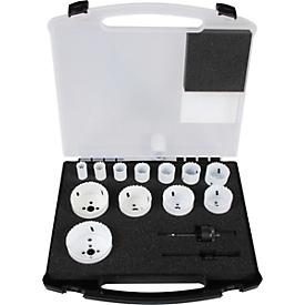 Juego de serruchos de calar bimetal Projahn ALLROUNDPLUS, en maletín rígido, de 14 piezas