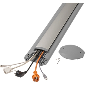 Kabelbrücken B15 EasyLoader Flexi, 1500 mm, grau