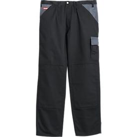 KANSAS® Bundhose Color, schwarz/grau, Gr. 46