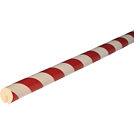 Kantenschutzprofil Typ B, 1-m-Stück, weiß/rot