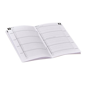 Karton-Taschenkalender, 16 Seiten, B 88 x H 153 mm, Werbedruck 60 x 30 mm, gelb, Auswahl Werbeanbringung optional
