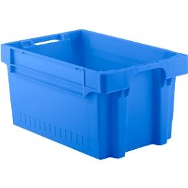 Kasten im EURO-Maß EFB 643, 54 l, blau