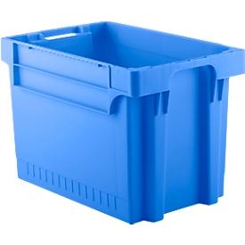 Kasten im EURO-Maß EFB 644, 72 l, blau