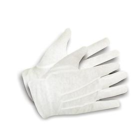 Katoen-tricot handschoen maat 8