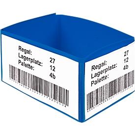 Kennzeichnungstaschen für Palettenfüße, 10 Stück