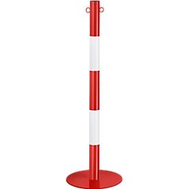 Kettenständer, 2-tlg., rot/weiß