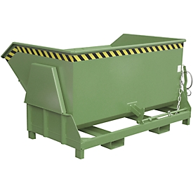 Kiepbak type BK 150, groen