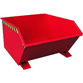 Kiepbak type GU, 1000 liter, rood