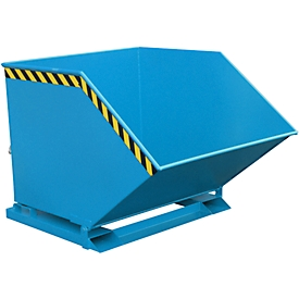 Kiepcontainer KK 1000, blauw (RAL 5012)