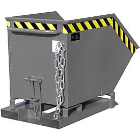 Kiepcontainer KK 250, grijs (RAL 7005)