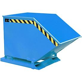 Kiepcontainer KK 400, blauw (RAL 5012)