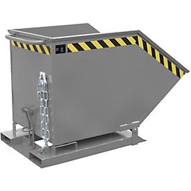 Kiepcontainer KK 600, grijs (RAL 7005)
