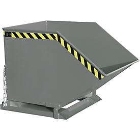 Kiepcontainer KK 800, grijs (RAL 7005)