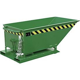 Kiepcontainer KN 250, groen (RAL 6011)