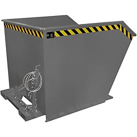 Kippbehälter Typ GU, 1500 Liter, grau