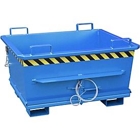 Klappbodenbehälter BKB 500, blau