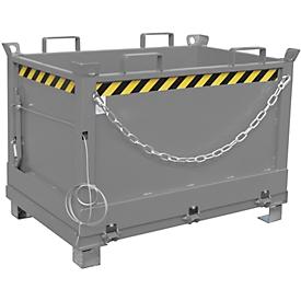 Klappbodenbehälter FB 500, grau