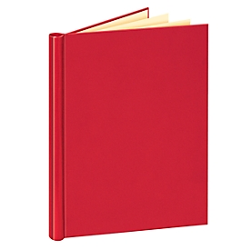 Klembinder Veloflex, A4, voor ca. 200 vellen, vulhoogte 20 mm, stevig karton/pvc, rood