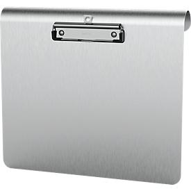 Klembord Maul MAULmedic A4-formaat, klemcapaciteit 8 mm, aluminium, ook geschikt om op te hangen, liggend